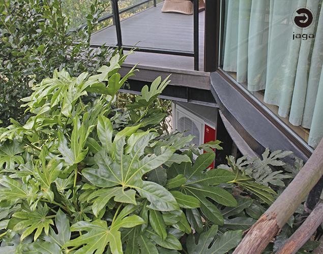梅花三联供空气源热泵