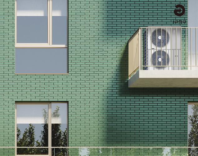 美季诺两联供热泵